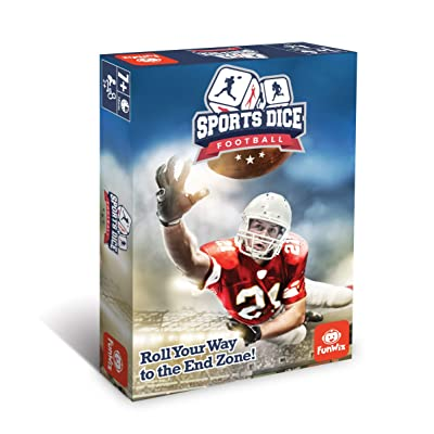 FoxMind Games Sports Dice - Football: Toys & Games