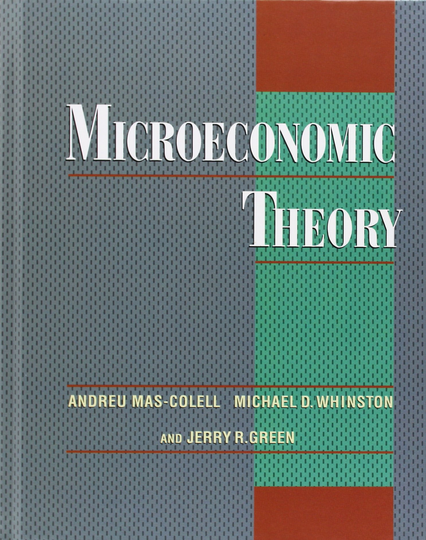 whinston and green microeconomic theory pdf