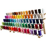 Machine Embroidery Thread Set - 80 Colors of Polyester on 500M Spools - Sets A&B - ThreadArt
