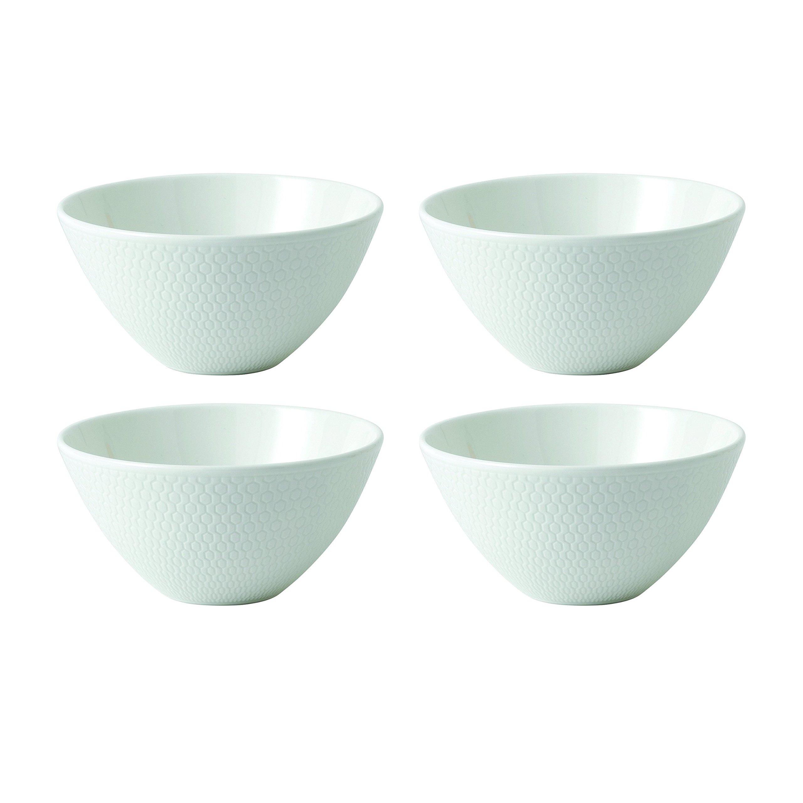 Wedgwood 40023851 Gio Dip Bowl 4.7'' Set/4 2.4'' White