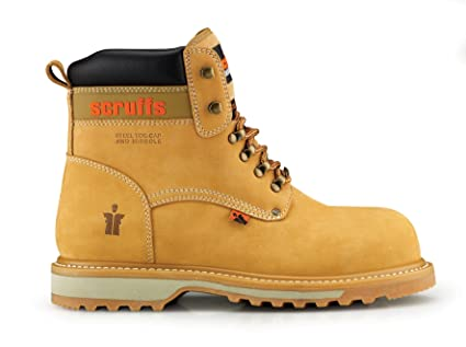 f6682d63355 Scruffs Twister 4 Safety Safety Boots Size 11 - Sandstone: Amazon.co ...