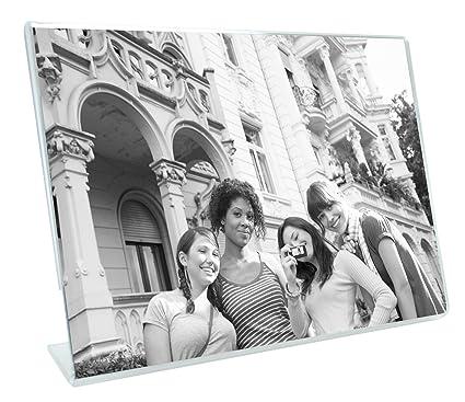 Amazon Mcs 4x6 Inch Bent Acrylic Picture Frame Horizonal