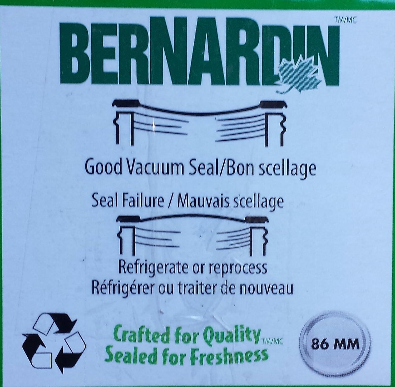 Bernardin Mason Jar Lids Wide
