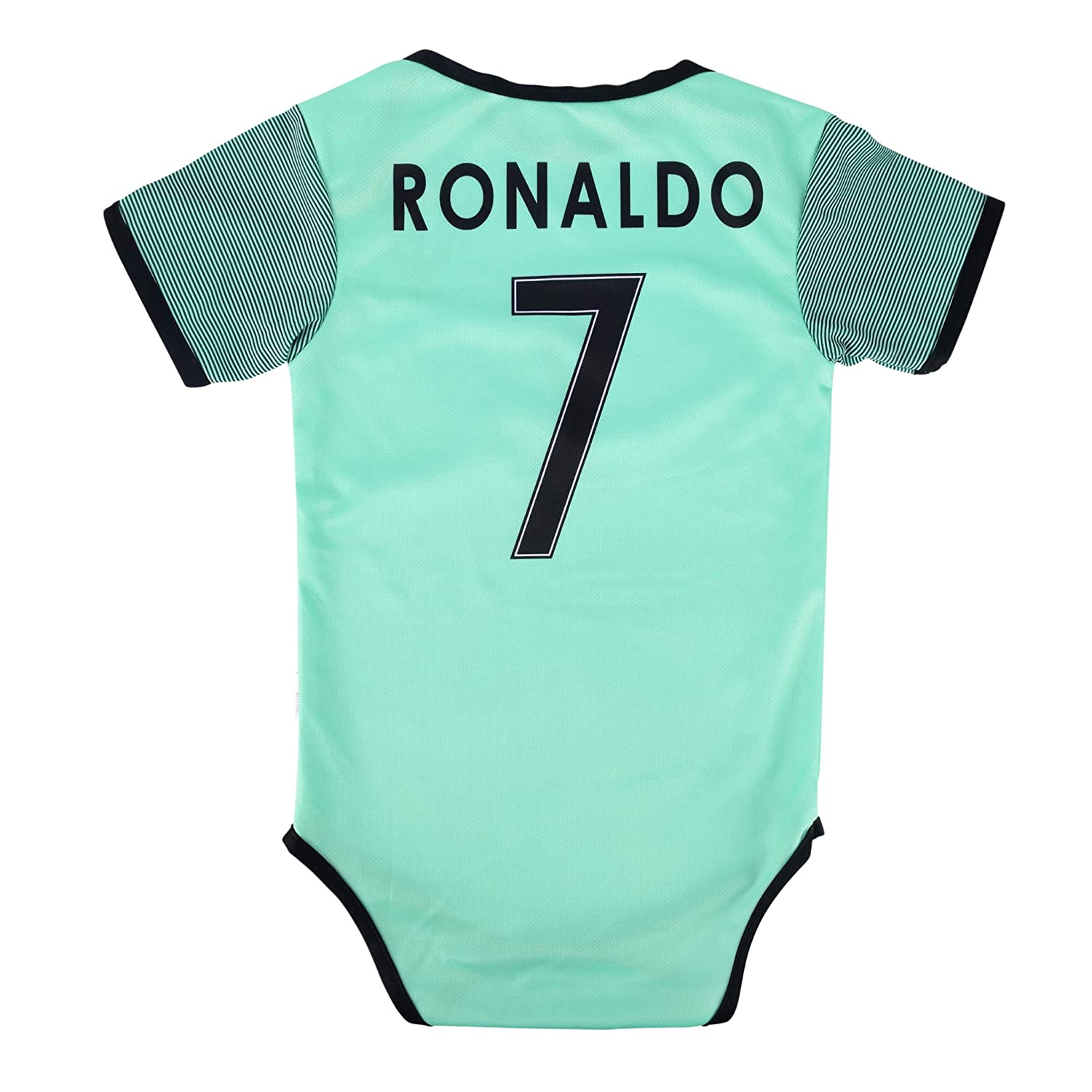 32a103d96 Amazon.com   World Cup Baby Cristiano Ronaldo  7 Portugal Soccer Jersey  Baby Infant and Toddler Onesie Romper Premium Quality   Sports   Outdoors