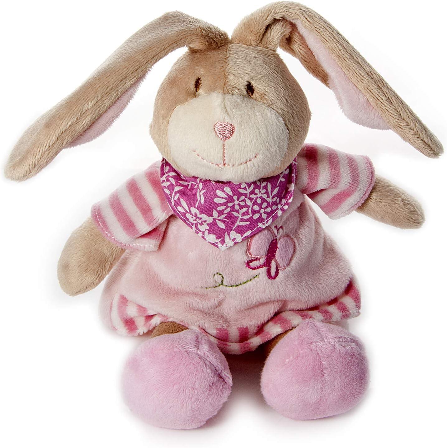 Mousehouse Gifts Bebé Recién Nacidos Suave de Peluche Animal Juguete Conejo Rosa para Bebé Niña