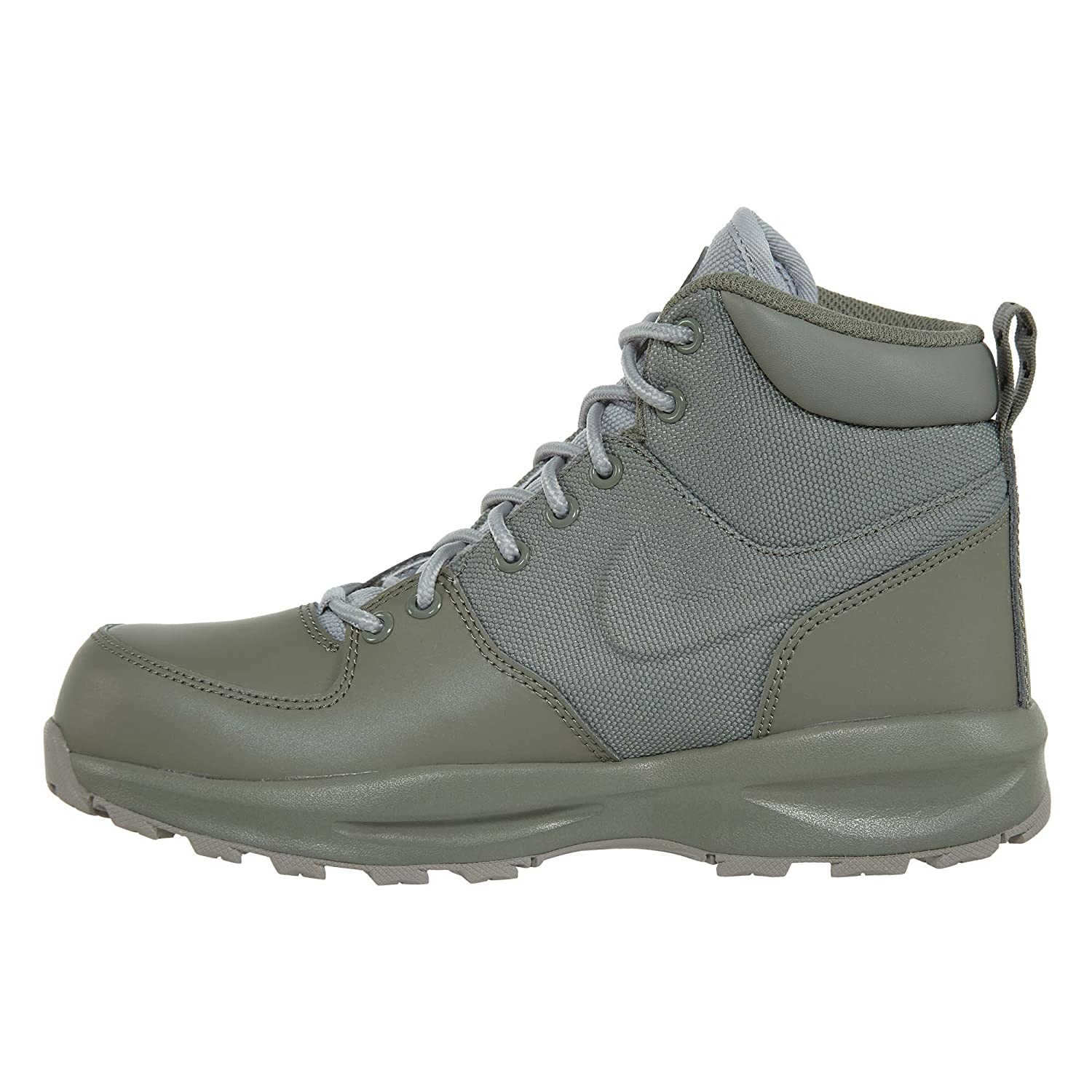 GS Dark Stucco//Wolf Grey-Cobblestone 4.5Y Boot Nike Boys Manoa 17