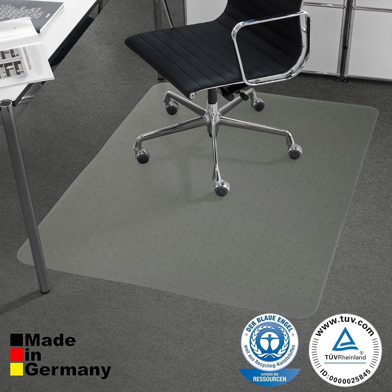 90x120cm Bodenschutzmatte PET /®Performa f/ür Teppichb/öden mit T/ÜV und Blauer Engel 4 Gr/ö/ßen w/ählbar
