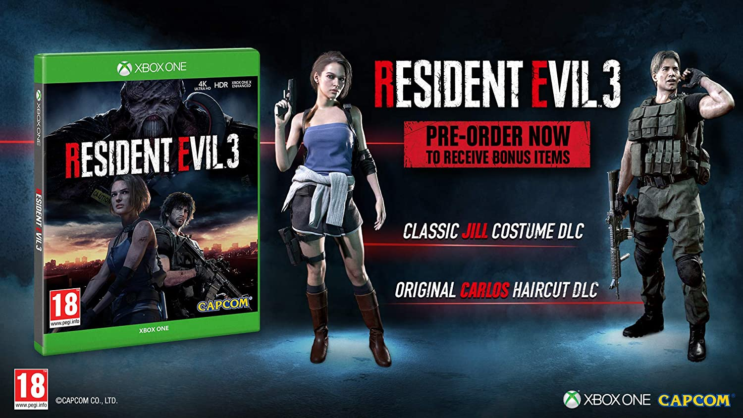 Resident Evil 3 with Stickers (Exclusive to Amazon.co.UK) - Xbox ...