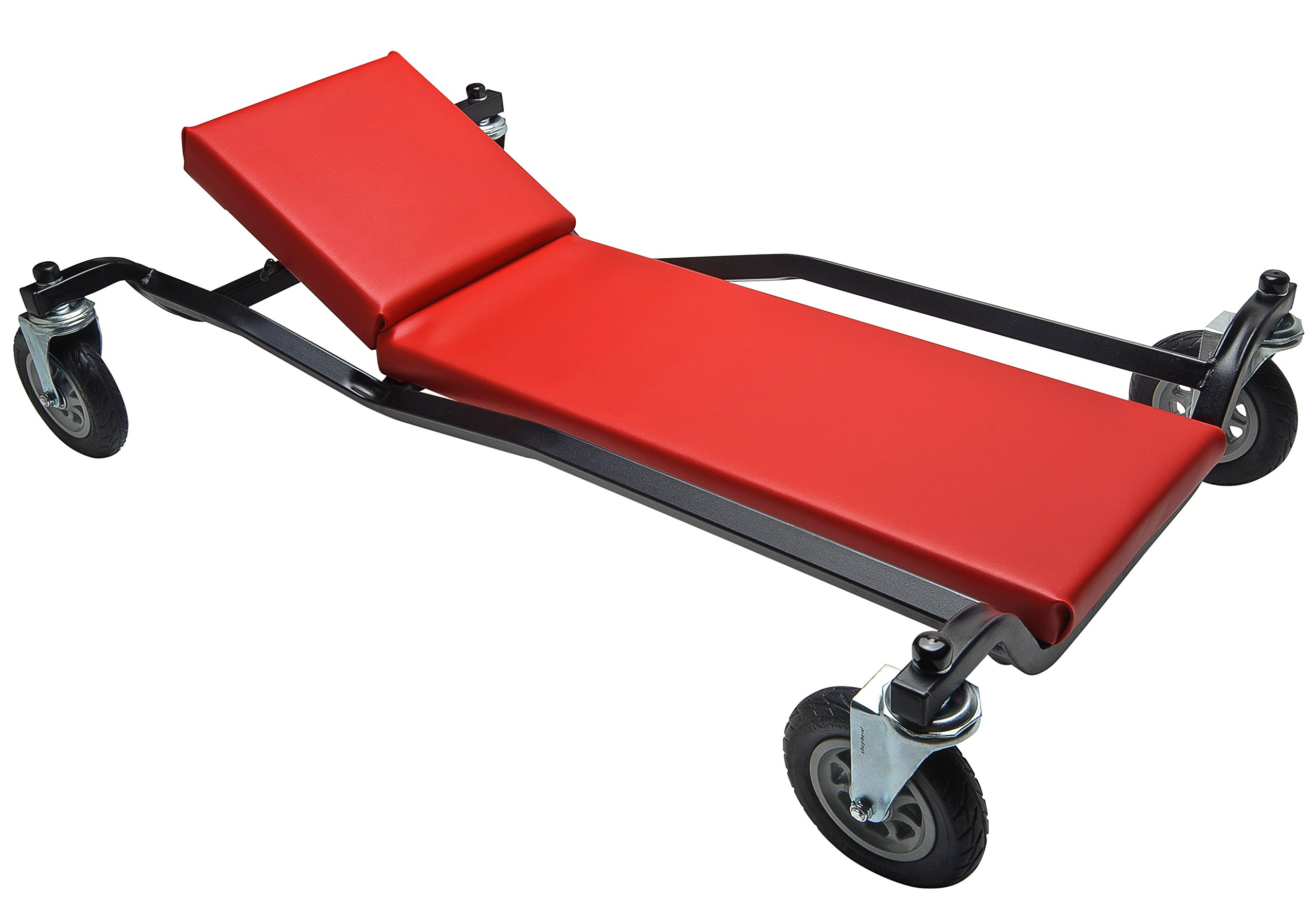 40'' Adjustable Headrest Big Wheel Creeper by Whiteside Manufacturing (Image #1)