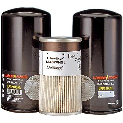 Luber-finer LK286DXL Detroit Diesel Filter Kit: Automotive
