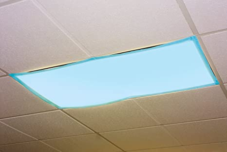 Fluorescent Light Covers >> Educational Insights Fluorescent Light Filters Tranquil Blue Set Of 4