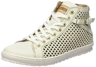Lagos 901_v17, Sneakers Hautes Femme, Blanc (Nata), 40 EUPikolinos