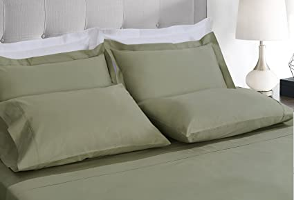 Threadmill Home Linen 600 Thread Count Bedding Collection 100% ELS Cotton  Solid Sateen Sheet Set