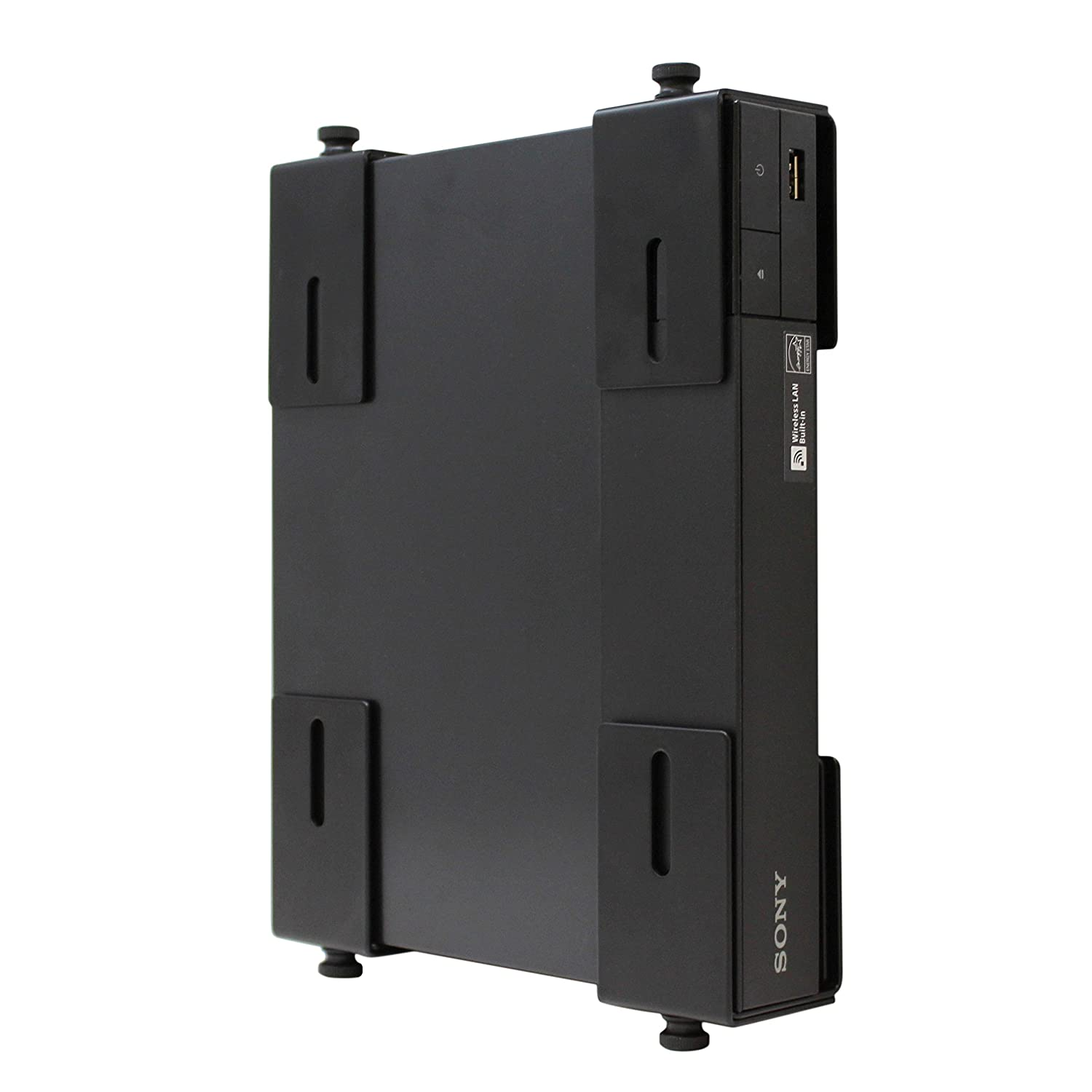 HumanCentric Adjustable Device Wall Mount | DVD Players, Cable Boxes, Receivers, Set Top Box and Other A/V Equipment | Patent Pending