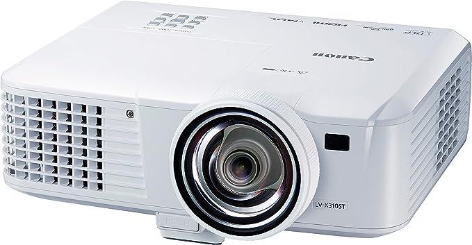 Canon LV-X310ST - Proyector (1024 x 768, 3100 lúmenes, USB, HDMI ...