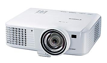 Canon LV-X310ST - Proyector (1024 x 768, 3100 lúmenes, USB, HDMI, VGA), blanco