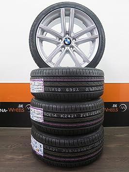 Llantas para BMW de 18 pulgadas ruedas de verano: Serie 1 E81 E82 E87 E88 F21 F20 Serie 2 Serie 3 E46 Z4: Amazon.es: Coche y moto