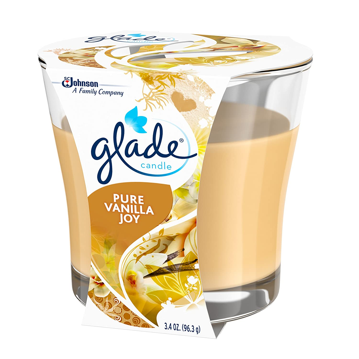 Amazon.com: Glade Jar Candle Air Freshener, Pure Vanilla Joy, 3.4 Ounce: Health & Personal Care