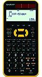シャープ スタンダード関数電卓 ピタゴラス 442関数 イエロー系 EL-509-M-YX