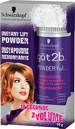 89522d0907 Image Unavailable. Image not available for. Colour: got2b POWDER'ful  Volumizing Styling ...