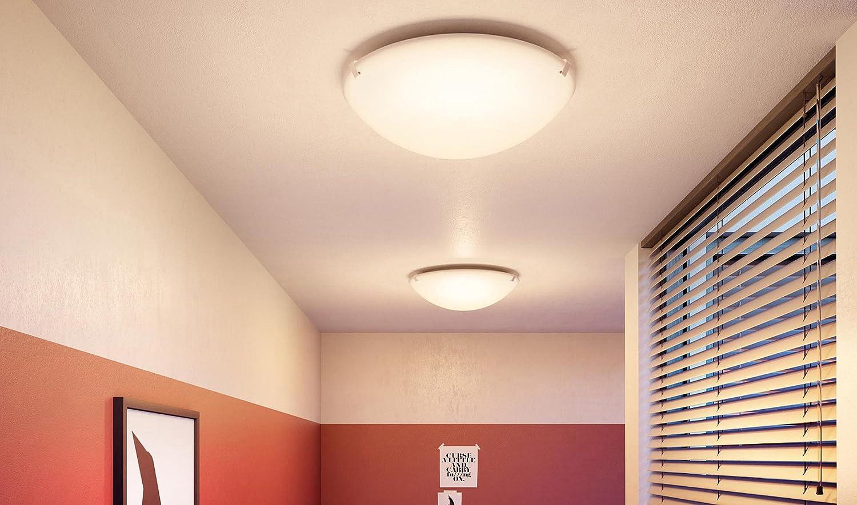 Plafoniera Led Suede Philips : Philips  suede lampada da soffitto a led w bianco
