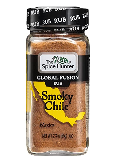 The Spice Hunter Global Fusion Rub, Smoky Chile, 2.3 Ounce