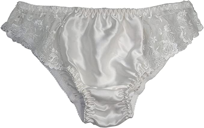 70s Clothes | Hippie Clothes & Outfits Paradise Silk Pure Silk Lace Panties £6.93 AT vintagedancer.com