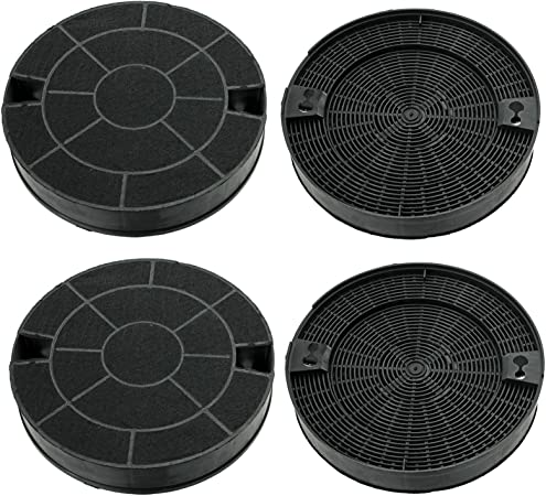 Spares2go Carbón Ventilación Extractor Filtro para IKEA Campana (Pack de 2 o 4) 4 Filters: Amazon.es: Grandes electrodomésticos