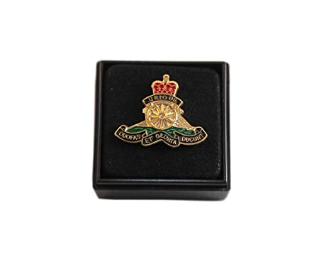 302878bc67a2 Image Unavailable. Image not available for. Colour: ROYAL ARTILLERY RA LAPEL  PIN ...