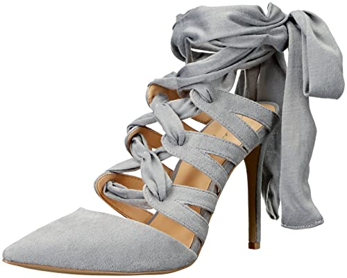 c1b36987240 Daya by Zendaya Women s Saint Dress Pump Light Grey 5.5 M US