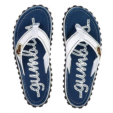 782bed66217a Gumbies - Islander Canvas Flip-Flops - Women s - Rope Blue
