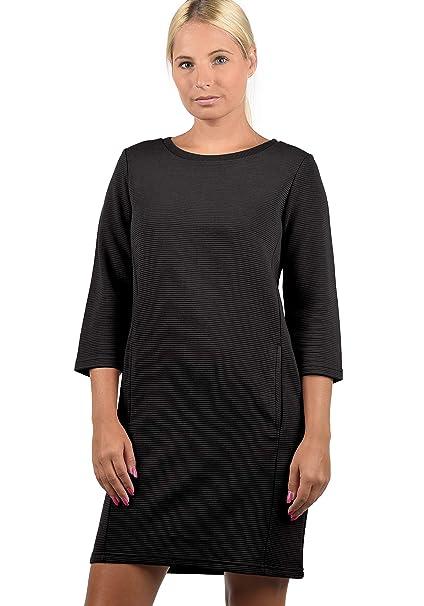 JACQUELINE de YONG by Only Swane Vestido Sudadera Suéter para Mujer con Cuello Redondo: Amazon.es: Ropa y accesorios