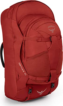 Osprey Farpoint 70 Mens Travel Pack with 13L Detachable Daypack ...