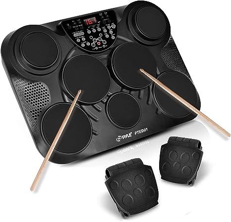 Pyle Portable Drums, Tabletop Drum Set