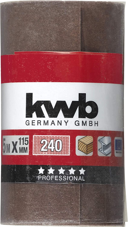KWB 817824 Papel de lija 115mm