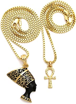 Fashion 21 Unisex Pave Peave Sign Love Pendant Various Chain Necklace Available Gold Tone