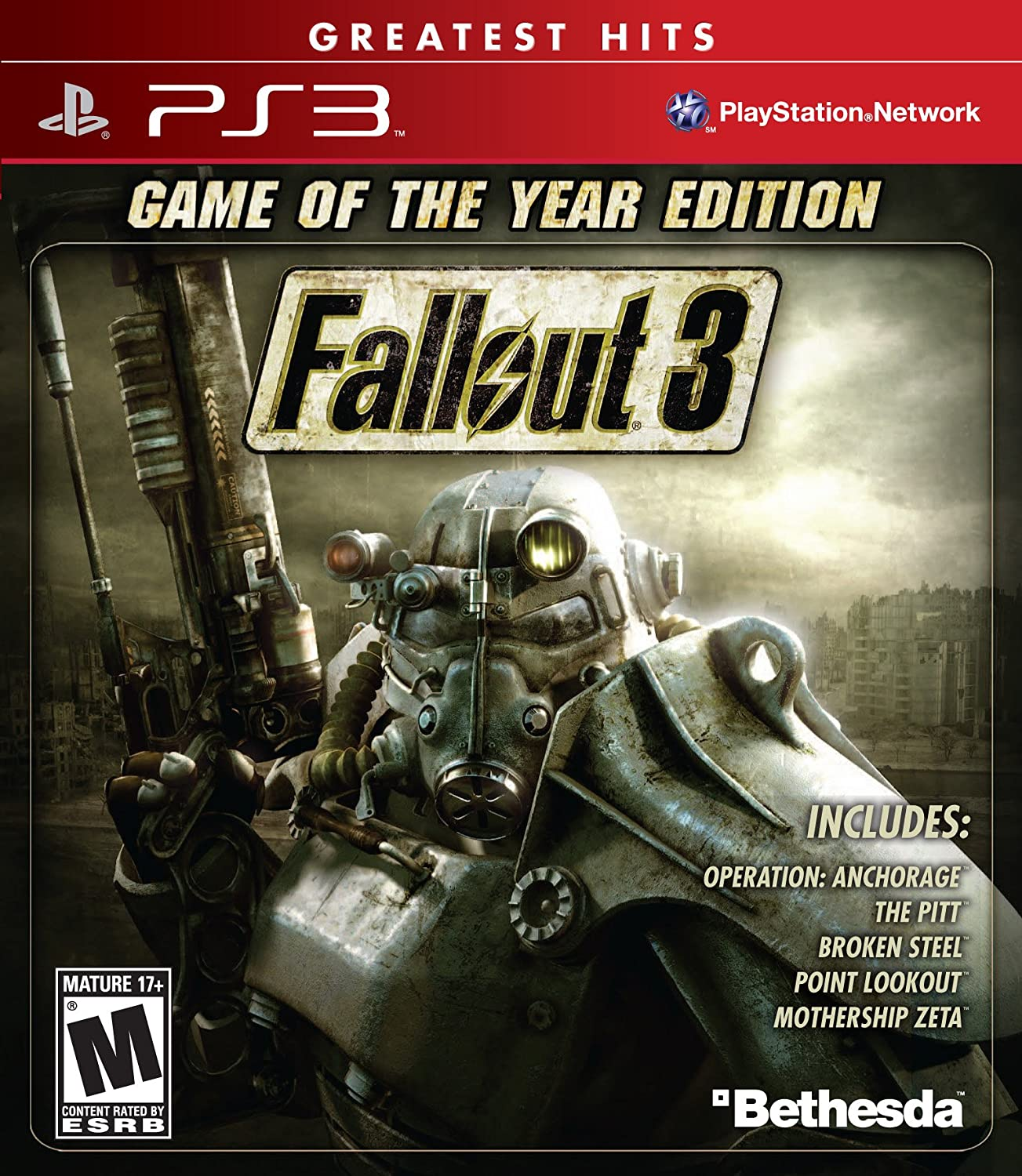 amazon com fallout 3 game of the year edition playstation 3