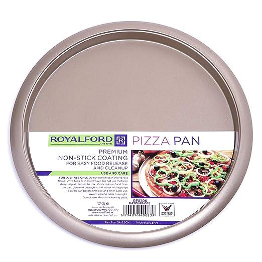 ROYALFORD - Bandeja para Horno de Pizza Antiadherente, 32 cm ...