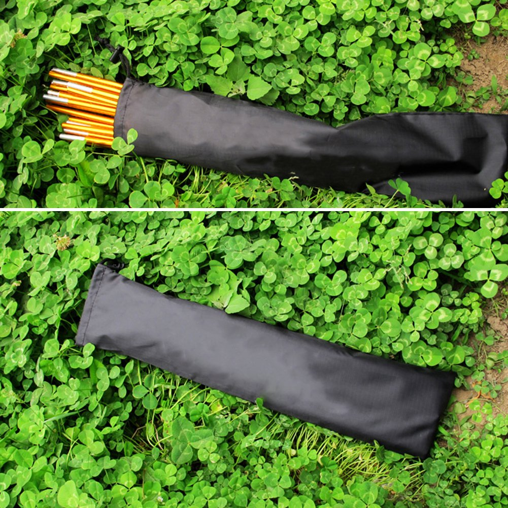 Buyanputra Durable Camping Canopy Storage Bag Tent Equipment Pole Bar Rod Peg Storage Bag Outdoor Activities