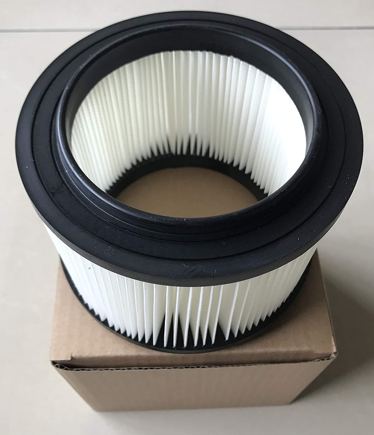 KLEAN AIR 17810 Filter Compatible with Craftsman 9-17810 shop vac filter 3/4 gal vacuum Washable Pleated Paper-1PCS/PK-NEW!