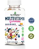 Nutrazee Complete Multivitamin Vegetarian Gummies for Kids, Teenagers, Men, Women, Adults With Essential Vitamins, 45 Gummy Bears