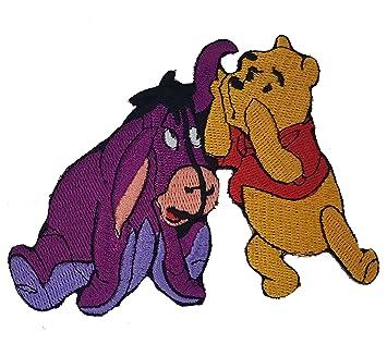 Winnie the Pooh de Disney Character Eeyore y amigo Old Donkey parche bordado de   alta ...