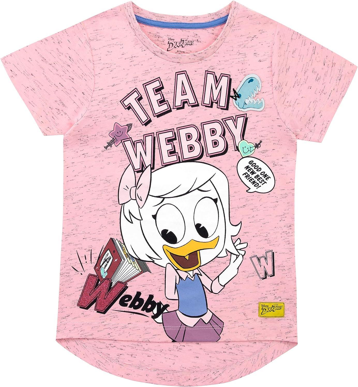 Disney Maglietta Maniche Corta per Ragazze Duck Tales