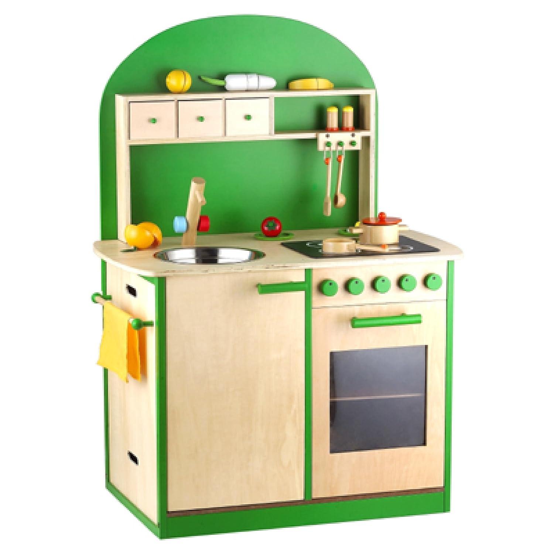SUN Kinderküche in Grün