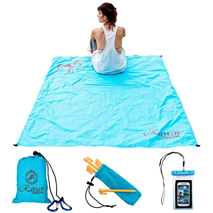 Amazon.com: Cobija tamaño viaje para playa y picnic ...