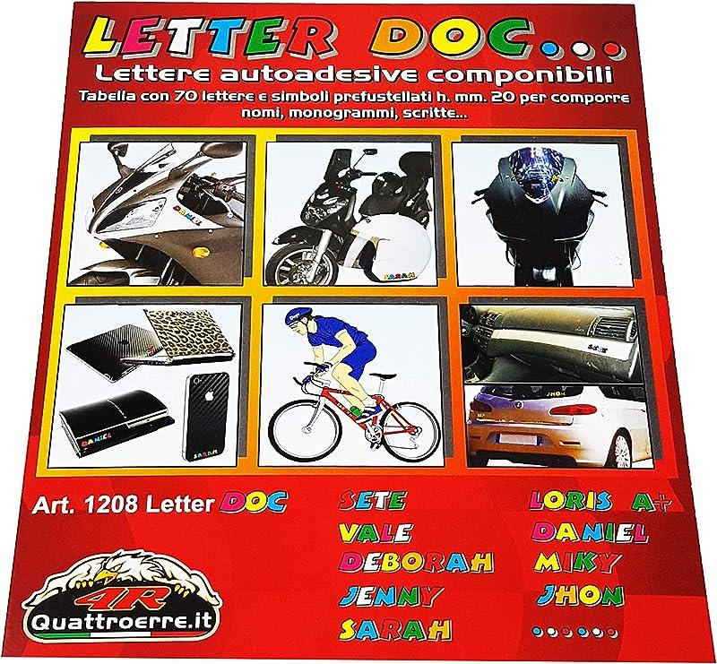 Quattroerre 1208 Kit Lettere Adesive Doc