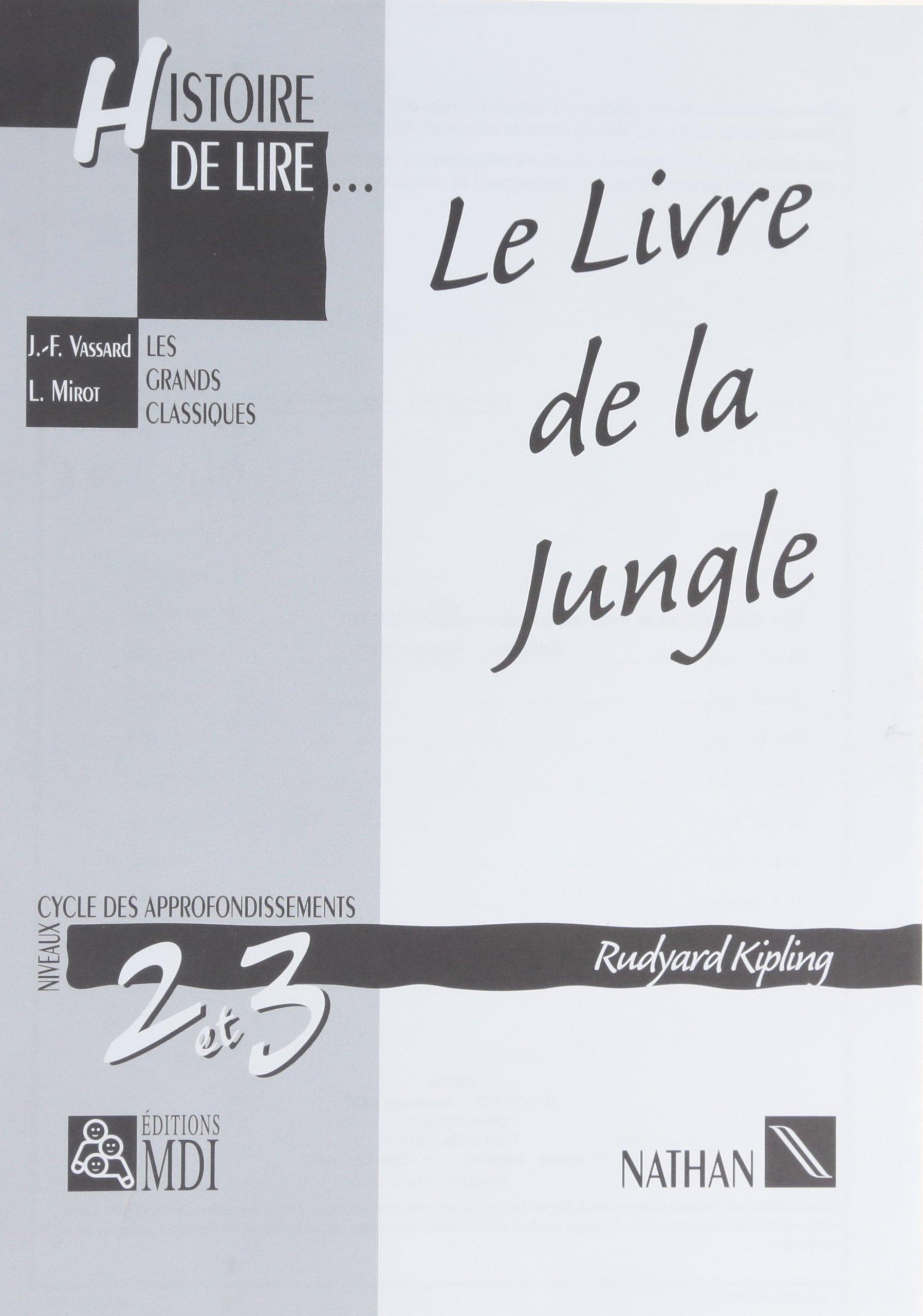 Histoire De Lire Cm1 Cm2 Le Livre De La Jungle Collectif
