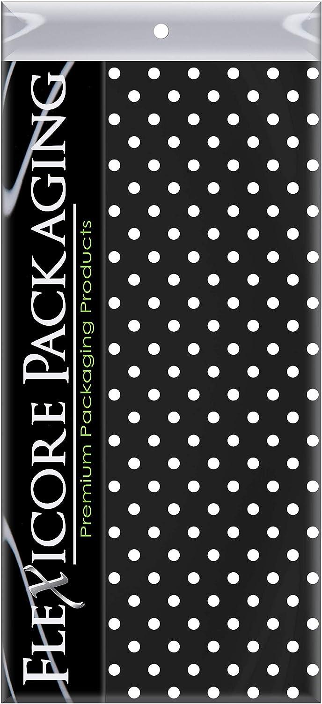 Black Polka Dot  Acid Free Tissue Paper 17-19gsm
