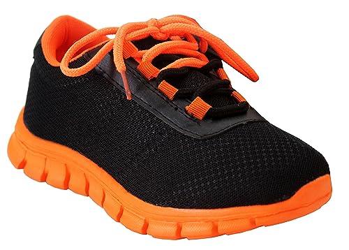 A&H Footwear - Botines chica para chico Unisex, para niños , color negro, talla