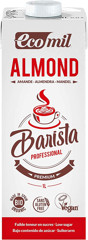 Ecomil Barista Almond Bio 1L. Bebida de almendra bio especial ...